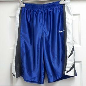 NIKE blue grey white basketball shorts XL